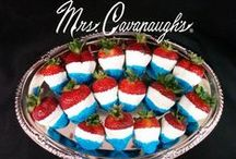 Independence Day! / Fun Ideas and themes for your 4th of July! / by Mrs. Cavanaugh's Chocolates & Ice Cream