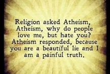 Understanding Atheism / All about atheism. What makes an atheist tick? Note: some people may find content in here offensive as it challenges religious beliefs. If you're easily offended by something like this, please do not follow this board. Open discussions & debate in a FRIENDLY & POSITIVE MANNER are welcomed! Please ask if you'd like to contribute pins to this board. Thanks!