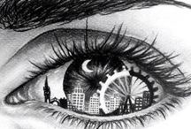 Drawings / See the world in a different point of view...