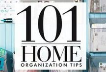 Getting Organized / Getting organized in the New Year is easy with all of these clever organization tips and tricks! Give everything a home in your house and make your space shine!