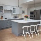 Real Kitchens / Our real kitchens speak for themselves. They are designed and installed by our team of high qualified designers and fitters. Our wealth of knowledge helps make your dream a shining reality.