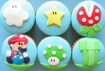 Cool Cupcakes / Geek and Gamer inspired cupcakes. Om nom nom