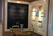 Playroom ideas!  / playroom designs, ideas, colors...etc!
