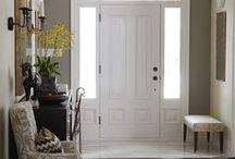 Front Entrances / Front door/porch, hall entrance...
