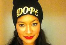 Dope Beanie All Black / Alex Malay Dope All Black Street Style Look
