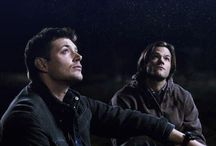 Supernatural / An ex-blood junkie, a drop out with six bucks to his name, and Mr. Comatose over there. / by Castiel Winchester