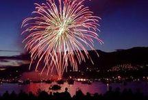 Wonderful fireworks / Superbes feux d'artifices