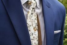 Happy customers / Pictures of our customers wearing different neckties, bowties and pocket squares from our collection.