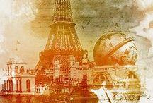 Awesome posters / Affiches et images des villes du monde