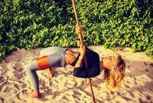 BROOMSTICK TRAINING / For gymnast, ninja strength.