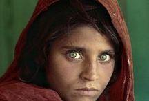 Steve McCurry / Легенда мировой репортажной фотографии Steve McCurry. Портреты.