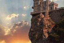 Полуостров Крым (Россия) / Дикая и прекрасная природа Крыма. Мягкий, уникальный климат, море, прибрежные скалы, романтика открытий и великолепный отдых. Всероссийская здравница! (Фотографии из интернета от разных авторов)