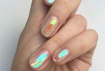 NAILS / Rad nails and colors. Inspoooo.