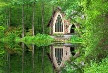 SANCTUARY / Peaceful surroundings, quiet hideways, secret gardens, and more