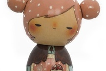Kokeshi Inspiration / Japanese dolls in all forms