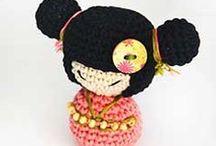 Crochet Kokeshi / Make your own Kokeshi