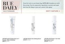 As Seen In / Magazine, blog articles, tv shows, and events that feature LIFTLABskincare.