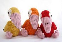Crochet Birds & Owls / Cute little birds and owls bring fun at home.