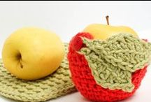 Crochet Apples and other fruit / Crochet apples and other fruit stuff