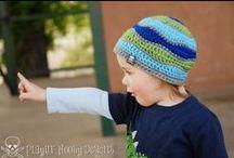 Crochet Beanies / Crochet a special beanie of hat.