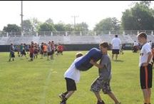Matt Light Football Camp / Kids ages 8-14 learn the fundamentals of the game of football, while experiencing the importance of teamwork, discipline, pride, and respect.
