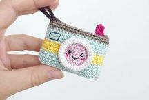Crochet Keychain / A special keychain to find your key easily.