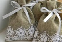 Burlap projects!