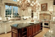 Kitchen Inspirations / These kitchens are one-of-a-kind works of art!
