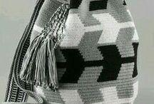 Tapestry Crochet Inspiration / Crochet multicoloured motifs