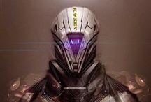Cyborgs, Droids, Robots & Suits