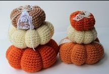 Crochet Autumn / Decorations and amigurumi for the autumn