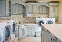 Laundry Rooms You Will Love / Do you need some motivation to do your laundry? Check out these brilliant ideas for your laundry room.