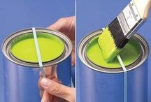 The Greatest Painting Tips / Painting Tips and Hacks that will make that weekend project much more enjoyable!