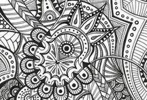 Drawing, sketching, doodling etc.