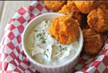 Greek Gods: On Game Day / Need to feed a ravenous crowd on game day? We've got you covered. See this board for dip and appetizers that will please all teams!