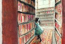 Lezende kinderen - Kids and books