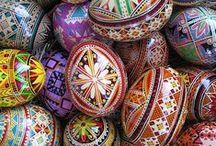 Писанка Ukrainian Pysanka Easter Egg / Символіка,техніки, готові писанки