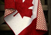 Quilting Red and White
