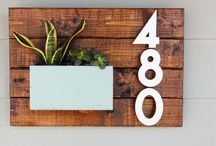 .. numbers .. / DiY House Numbers and ideas