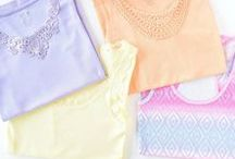 Fashion - Outfits, Spring & Summer / Fashion Outfits - Spring & Summer