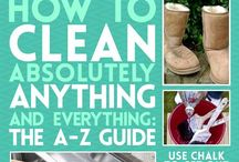 Cleaning/Organizing/DIY / Clean Organize Do It Yourself! / by Christa