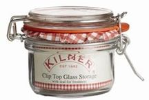 Clip Top Kilner Jars / We have a passion for preserving and with our beautiful clip top jars, we can preserve every season.  Visit www.kilnerjar.co.uk