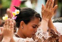 bali flower girl