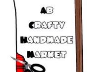 AB Crafty Handmade Market / Strut your stuff and show the world what you make!  This group board is dedicated to supporting the handcrafting vendors in Alberta, Canada.  You must be an approved vendor of the AB Crafty Handmade Market to contribute.  You may pin up to 4 new pins daily.  Please use our hashtag #craftyab along with your own to help others find your work!  Do not spam the wall with items you did not create yourself; spammers will be removed without warning.