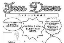 Plans to drawn / Planuri de desene pe care le pot desena zilnic.