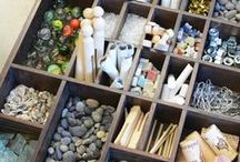* Loose Parts * / Here you'll find: articles about playing with loose parts * invitations to play and create * loose parts displays * crafts and activities using loose parts ... and much more!