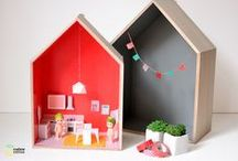 * Dollhouse * / Here you'll find: diy doll house ideas * cardboard dollhouses * diy doll house furniture * creative dollhouses for kids * easy doll house tutorials ... and much more!