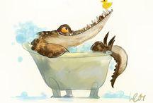 Random awesome illustrations