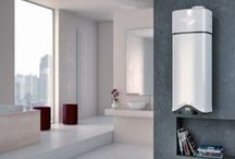 Ariston #Chauffe-eau #SalleDeBain #mestravauxavecAriston / Une sélection de chauffe-eau Ariston pour toutes les salle de bain