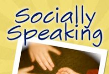 Socially Speaking / NEW! Pin a freebie/tip for each paid product (1:1)to stay on this board! Great FREE and paid resources for social language skills. You are invited to visit my store! Looks-Like-Language at TPT.